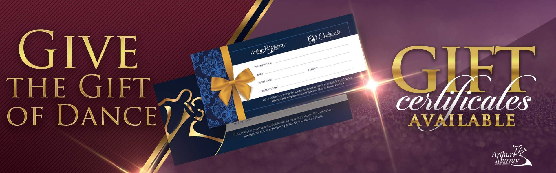 Arthur Murray Waterford Lakes Gift Certificates